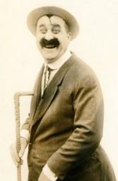 Mack Swain in a Silent Comedy Western