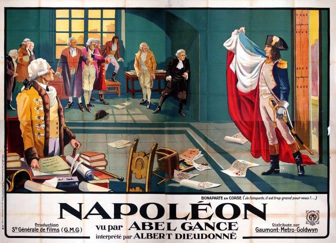 Superb Napoleon Poster 1927 Abel Gance