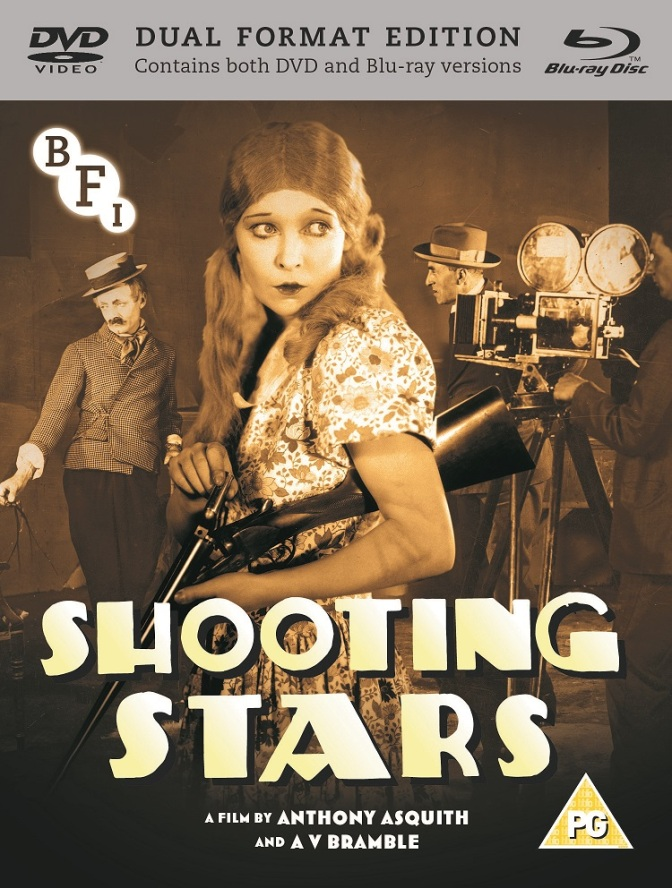 DVD Cover of Shooting Stars