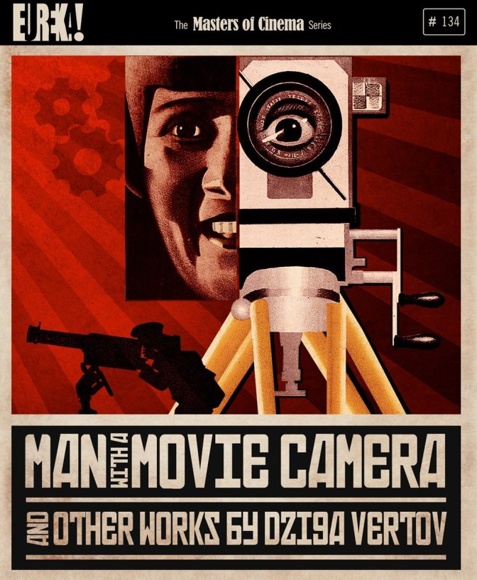 Masters of Cinema Man with a Movie Camera DVD Cover