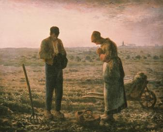 L'Angelus (1858-59) by Jean-François Millet