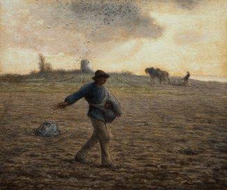 The Sower (1850) by Jean-François Millet